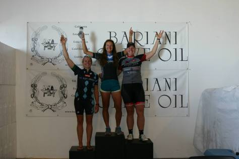 Women Cat 4 Podium