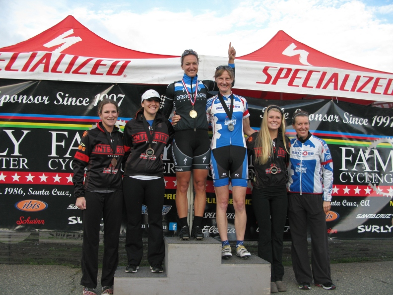 Finished 1st in the Women's Cat 4 field