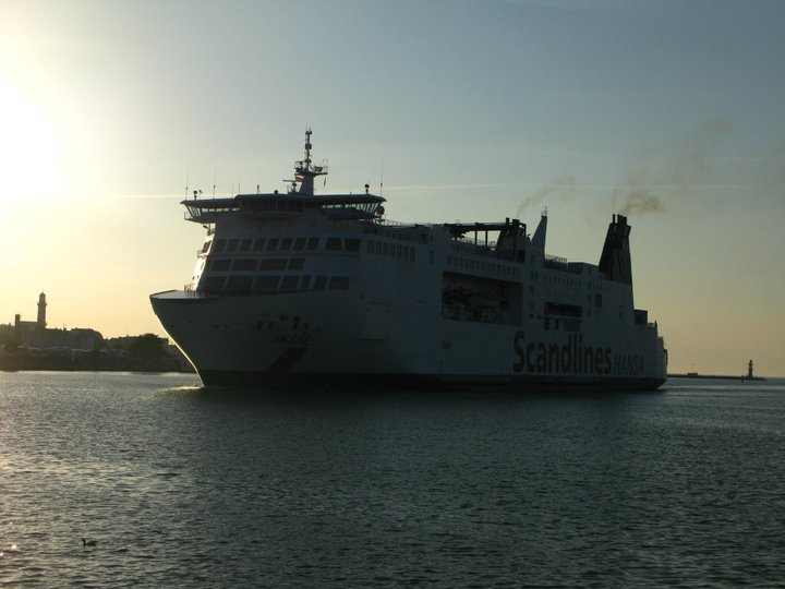 Scandlines cargo and passenger ship