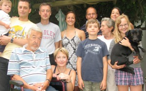 The Muegge Family on the Berlin side of the world